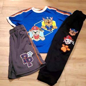2/$20 Nick Jr. Boys size 5 Paw Patrol outfit
